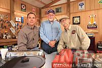 Rick, Jim and Dennis @ My Classic Car studios 2012
